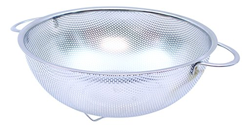 Tablecraft H906BH Colander, 6 quart, Stainless Steel