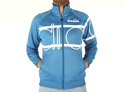 Blu Diadora 502173997 Jacket Da Uomo nbsp;80s Mediterraneo Sport Bold 0q0rwf