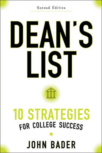 Pdf Test Preparation Dean's List: Ten Strategies for College Success