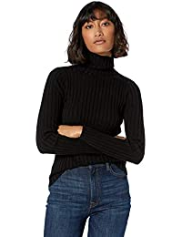 Women's Amy Fitted Turtleneck Ribbed Sweater
