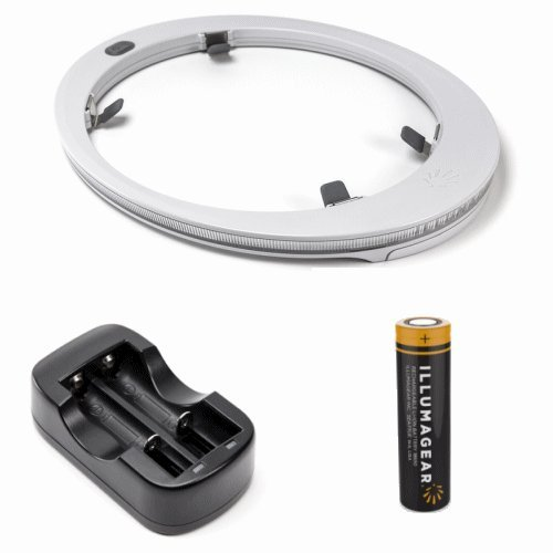 ILLUMAGEAR HALO HARD HAT LIGHT PACKAGE WITH BATTERY AND CHARGER by HALO LIGHT