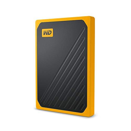 WD My Passport Go Portable 2 TB SSD, bernsteinrand