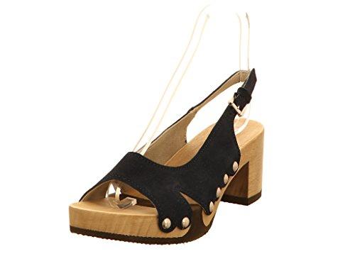Softclox, Christane Mühle S3387 - Sandalias de vestir para mujer Azul