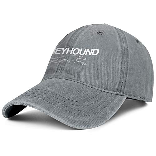 Mens Womens Greyhound-Bus- Adjustable Vintage Summer Hats Baseball Washed Dad Hat Cap
