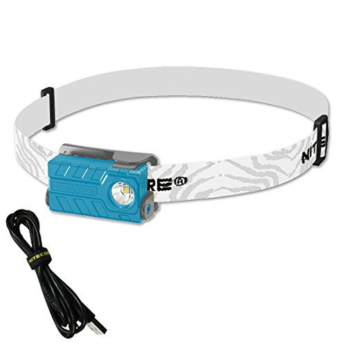 Nitecore NU20 360 Lumens Rechargeable Lightweight LED Headlamp with Lumen Tactical Adapter and USB Cable