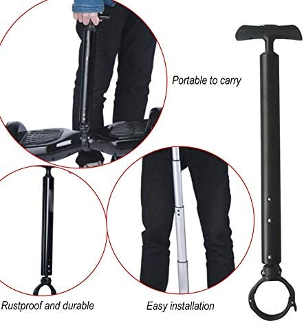 Safety Handle Control Strut Stent Telescopic Hoverboard Handlebar for 6.5inch 7inch 10 inch Electric Self Balancing Scooter