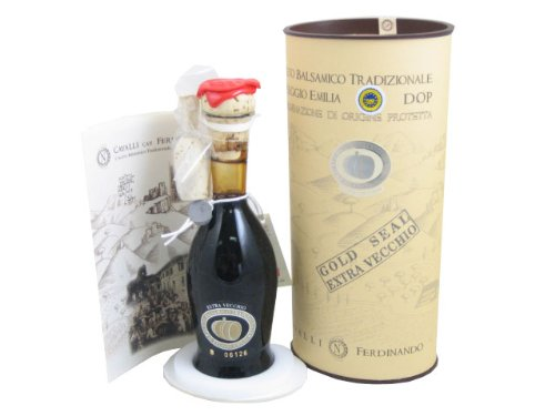 Cavalli Gold Label Traditional Balsamic Vinegar 1 Giovanni Cavalli, the ultimate producer of Tradizionale from Reggio Emilia, has resigned from the Consortium in order to independently produce Balsamic of