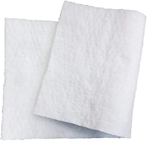 """Ceramic Fiber Blanket 4# Density, 2300F (1"""" x 12""""x 24"""") for Thermal Insulation of Stoves, Fireplaces, Pizza Ovens, Kilns, Forges, Furnaces"""