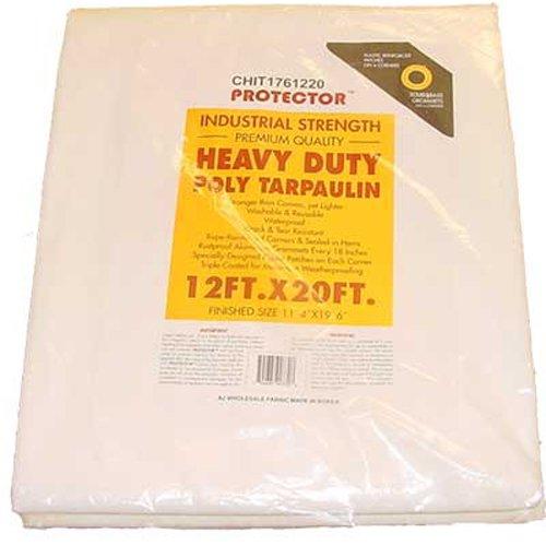 - Weather Gard 14 X 20 White Tarp Cover Patio Canopy Shade Yard 14x20