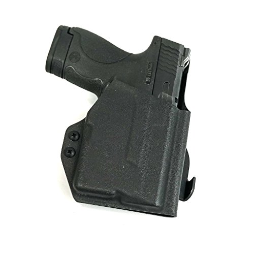 Priority 1 Holsters Smith & Wesson M&P Shield with Streamlight TLR-6 Paddle Holster - Outside the Waistband - Right Handed - Kydex OWB