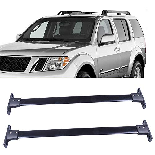 OCPTY Roof Rack Cross Bar Cargo Carrier Fit for 2005-2012 Nissan Pathfinder Sport Utility Roof Rack Crossbars