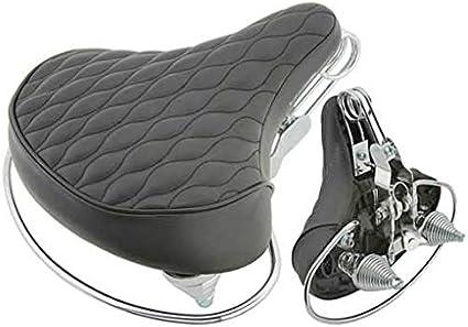 VELO Black Diamondback Bike Cruiser Seat New.