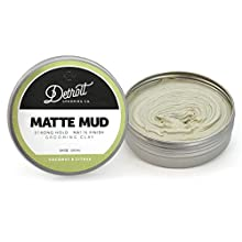 3.4 oz. Matte Mud - Grooming Clay - Detroit Grooming Company