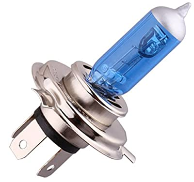 S&D 2 X H4 60W/55W 12V Car Headlight Lamp P43t Halogen Light Super Bright Fog Xenon Bulb White