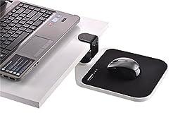Ergonomic Mouse Pad with Wrist Rest/ Adjustable Mouse Platform 8.2\