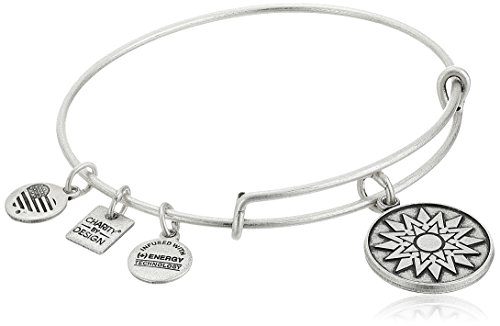 (Alex and Ani Charity By Design New Beginnings Rafaelian Silver Bangle Bracelet)