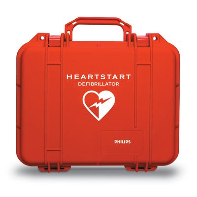 Case Hard Watertight for FR2/FR2+, FRx or OnSite/HOME AEDs - YC by Philips