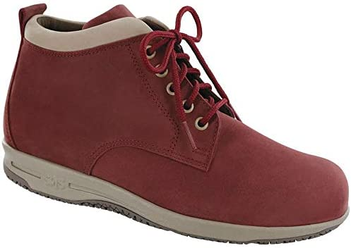 2d5f1dea3110b SAS Women's Gretchen Ankle Boot (9.5 W - Wide (C) US, Red/Taupe ...