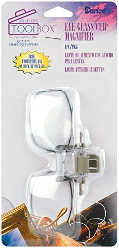 Darice Eyeglass Clip Magnifier (2 Pack)