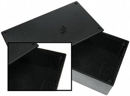 /Étuis pour /équipements Velleman WCAH2852 /étui pour /équipements Noir Noir, Plastique, 200 mm, 110 mm, 65 mm