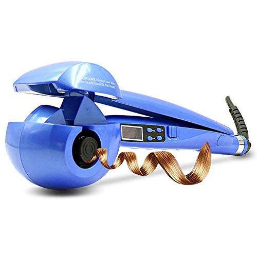 Automatic Hair Curler/Curling iron/Auto Curling Wand/Auto Hair Curler/Curling Wand/Hair Curler/Hair Curler iron/Hair Curlers Rollers for Long Hair/Hair Waver (Blue)