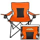 CollegeFanGear UT Tyler Deluxe Orange Captains Chair 'Primary Athletics Mark'