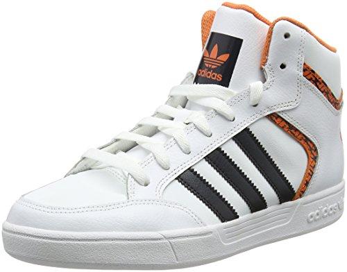 adidas Varial Mid, Scarpe da Skateboard Uomo Bianco (Ftwwht/Carbon/Traora Ftwwht/Carbon/Traora)