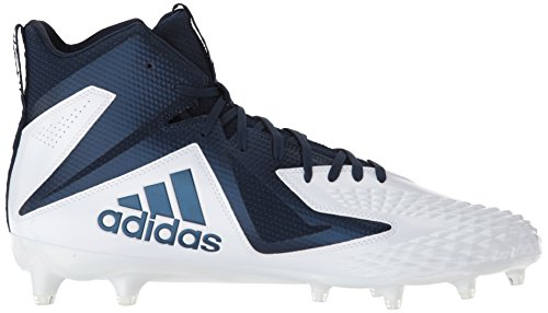 Adidas Freak X Carbon Mid Cleat Heren Voetbal White / Collegiate Navy / Collegiate Navy