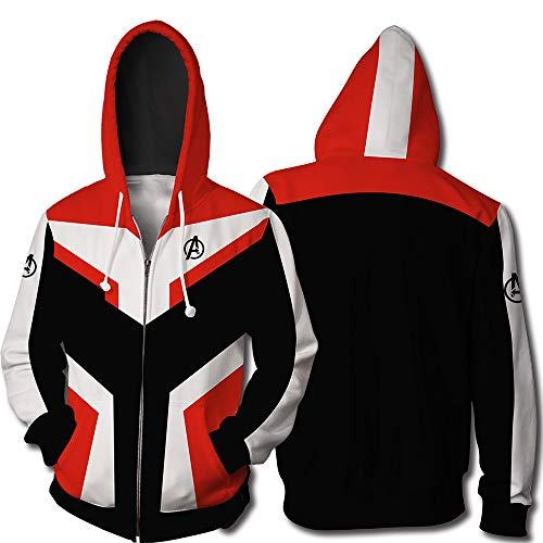 √ Prime Breathable Superhero Hoodie Adult Sweatshirt Jacket Sweatpants for Halloween Cosplay Costume