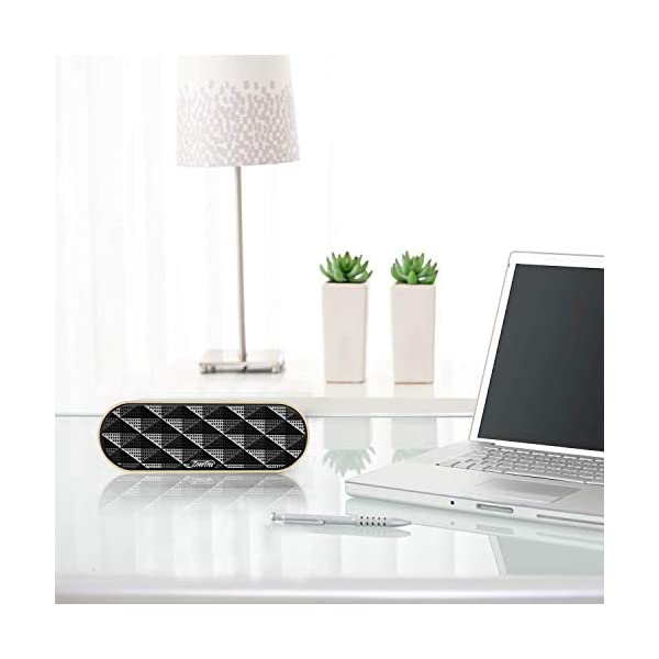 ZoeeTree S3 Enceinte Bluetooth portable, Bluetooth 4.2 EDR, avec Son 360°, 10W Haut Parleur Stéréo avec Audio Haute Définition et Basse Améliorée, Mains Libres Appel TF Carte Slot 5