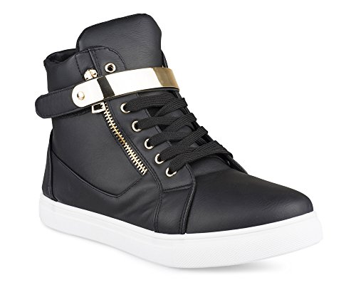 leather high tops - 8