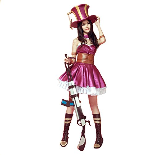 engerla League of Legends Cosplay Caitlyn den Sheriff von Piltover