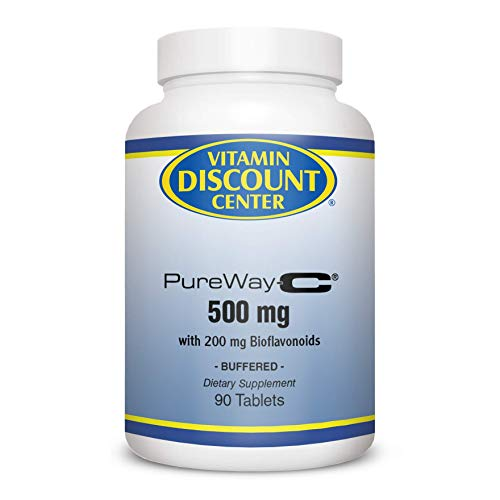 (Vitamin Discount Center Vitamin C 500 Mg with Bioflavonoids, 90 Tablets)