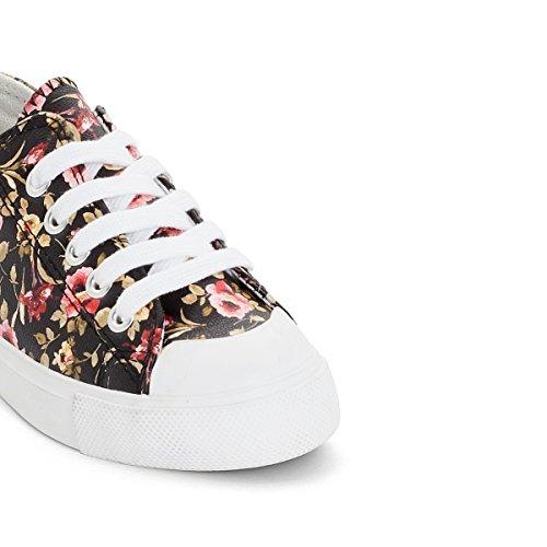 La Redoute Collections Mdchen Bedruckte Sneakers, Gr. 2639 Gre 35 Schwarz