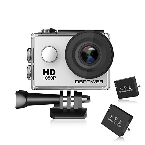 DBPOWER SJ4000 Action Cam Sport DV 1080P Mini 30M / 98ft Waterproof 12MP 170 Degree Wide Angle 1.5 inch LCD HD With Accessories Action Cameras DBPOWER
