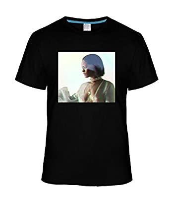 May26 Rihanna Needed Me Three-dimensional Color T-Shirt T-Shirts For Mens