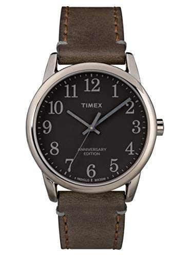 TIMEX - Easy Reader Men Leather Brown Watch - TW2R35800