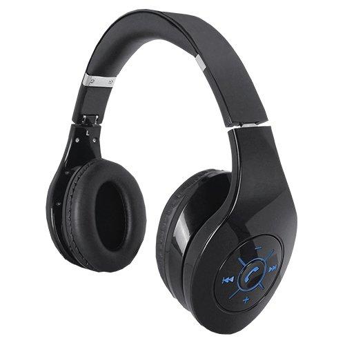 SuperSonic IQ-125BT BLACK Iq-125 Bluetooth Stereo Headpho...