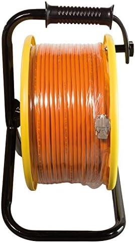 Logilink cq3060s Enrouleur de c/âble r/éseau avec Prises 6/A STP RJ45/Keystone 60m