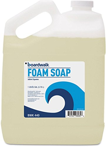 Boardwalk 500504GCE00 Foaming Hand Soap, Honey Almond Scent, 1 Gallon Bottle Scent 1 Gallon Bottle