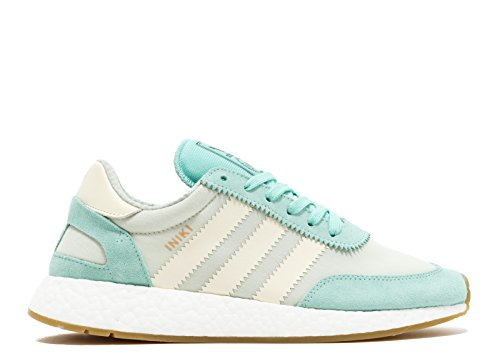 Picture of adidas Iniki Runner Womens in Easter Green/White by