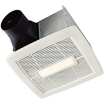 Broan aen80l bathroom ventilation fan for Panasonic whisperfit ez bathroom fan 80 or 110 cfm