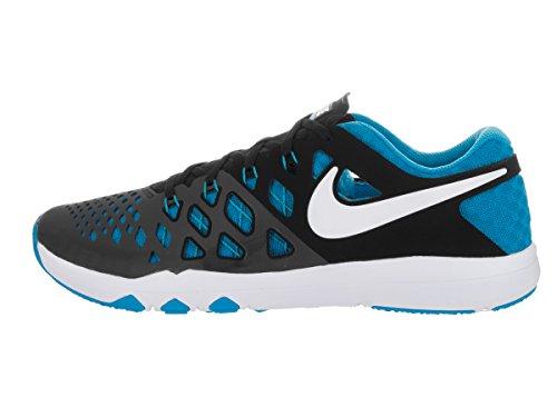 Nike Train Speed �? Herren Trainings- / Laufschuh Schwarz / Blau Glow / Weiß