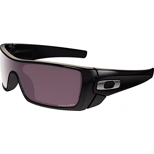 Oakley Batwolf Rectangular Sunglasses, Granite w/Prizm Daily Polarized, 127 mm by Oakley