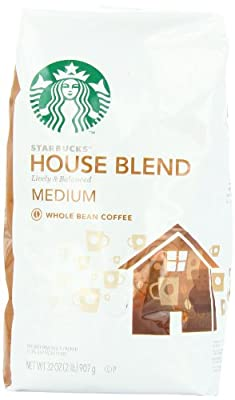 Starbucks House blend Whole Bean Coffee, 32 Ounce by Starbucks