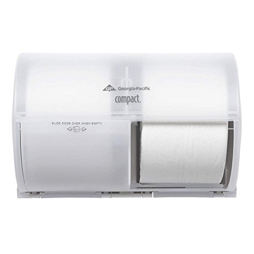 Georgia-Pacific Consumer Products 56797A Compact Toliet Paper Dispenser, High Capacity, White () for cheap