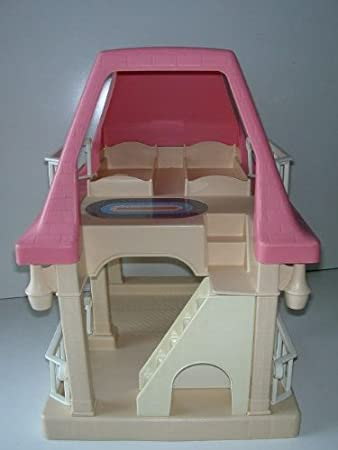 Amazon.com: Little Tikes Grandmau0027s House Doll House With Pink Roof: Toys U0026  Games