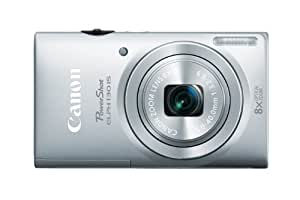 Canon PowerShot ELPH 130 IS 16.0 MP Digital Camera with 8x Optical Zoom 28mm Wide-Angle Lens and 720p HD Video Recording (Silver) (OLD MODEL)