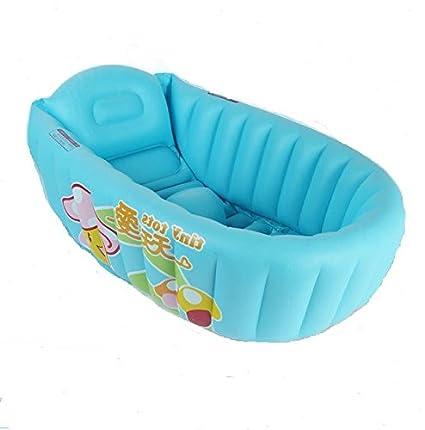 Cyhione Bañera Inflable Portable Piscina Hinchable Bañera bebé ...