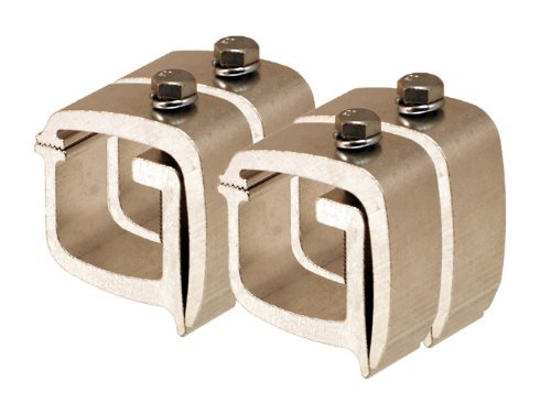 API KH1 Mounting Clamps for Truck Caps / Camper Shells (4 pack) (Pickup Caps Bed Truck)